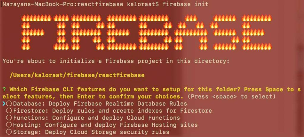 deploy react to firebase