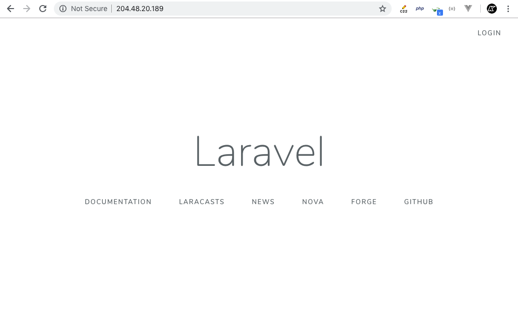 Kaloraat - How to Deploy Laravel to Digital Ocean
